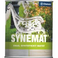 "Эмаль алкидная Chemolak ""Synemat"" матовая чёрная 0,75л."