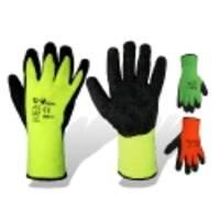 Перчатки утепленные, покрытые вспененным латексом Winter Safe, к. 180