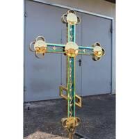 Крест накупольный 001 (ЗЕ), купить