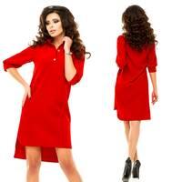 Модель - 181 (плаття), червоний колір