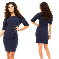 Модель - 182 (плаття),  темно-синій
