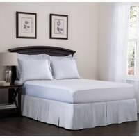 Спідниця для ліжка Біла Модель 5 строгий Мodern