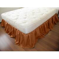 Підзор на ліжко Рюші Модель 4 Медовий