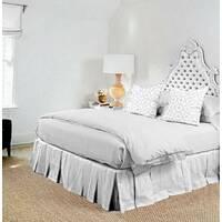 Подзор для кровати Складки Модель 2 Белый