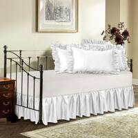 Підзор на ліжко Рюші Модель 1 Білий