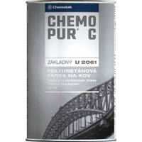 """Подклад поліуретановий 2-К """"Chemopur G"""" (цегляний, білий, чорний) 1,0кг."""