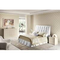 Подзор для кровати Складки Модель 3 Белый