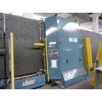 Стеклопакетная лінія Lisec 2500Х3500 з газ пресом і роботом герметизації