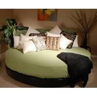 Простынь на Круглую кровать Модель 2 Олива
