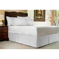 Спідниця для ліжка Белая вузькі смужки Модель 1 строгий Мodern