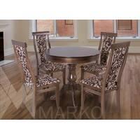 Комплект круглый стол с стульями