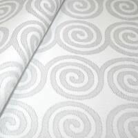 Столова ткани преміум класу маті (мал. 19), спіраль біла