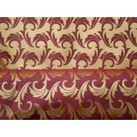 Столова тканина преміум класу маті (мал. 17), гілочка, золото з бордовим
