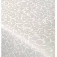 Столова тканина преміум класу маті (мал. 18), відрада біла