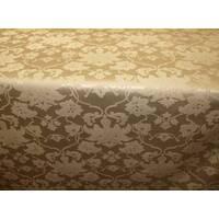 Столова тканина преміум класу маті (мал. 11), королівський бежевий з золотом