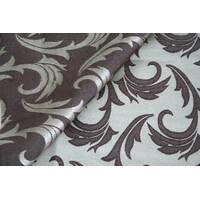Столова тканина преміум класу маті (мал. 16), гілочка, коричневий з білим