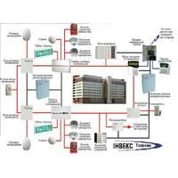 Монтаж системи пожежної сигналізації