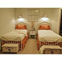 Підзор на ліжко Рюші Модель 5 Медовий