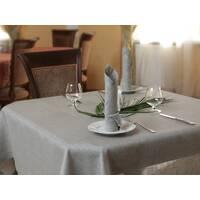 Скатертина ЛЕН НАТУРАЛЬНИЙ для квадратного, круглого, прямокутного, овального столу