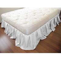 Підзор на ліжко Рюші Модель 4 Білий