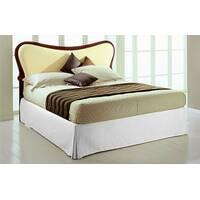 Спідниця для ліжка Біла Модель 2 строгий Мodern