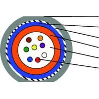 Кабель оптичний 4 волокна, SM, броня