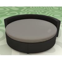 Простынь на Круглую кровать Модель 2 Порох