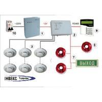 Проектування системи пожежної сигналізації