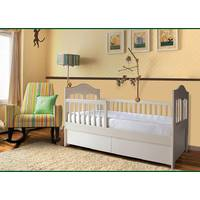 Дитяче дерев'яне ліжечко з ящиками