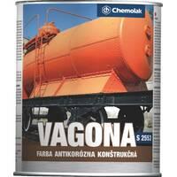 Синтетична антикорозійна фарба (2 в 1) S2553 VAGONA п/матова, купити в Харкові оптом