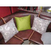 Декоративна подушка квадратна  Марсела+Салатовый
