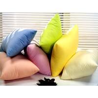 Чохли кольорові на подушки