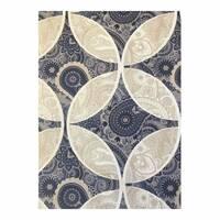 Ткань для штор с узором пейсли