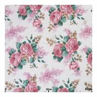 Ткань для штор букет цветов стиль прованс