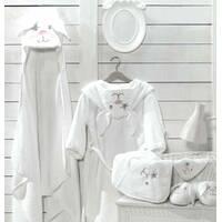 Детское махровое полотенце для младенца Банни с капюшоном