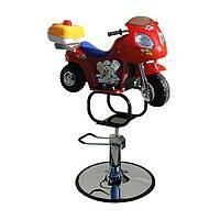 Дитяче перукарське крісло Мотоцикл