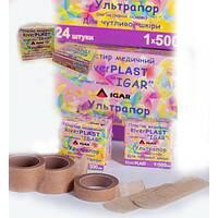 Пластир River PLAST ультрапор 1х500см