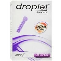 Ланцети Droplet 30G, 200 шт.