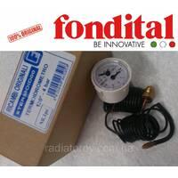 Термоманометр 40 мм. Fondital/Nova Florida