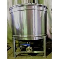 Виготовлення бочок з нержавіючої сталі під кришку з обручем і горловиною