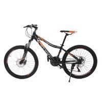 Велосипед 24 Remmy LOСRI 13 AM DD чорно-помаранчевий (м) AL