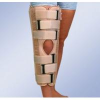 Тутор колінного суглобу з боковими і задніми жорсткими пластинами, універсальний, 70 см