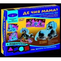 "Игра ""Де чи мама?"" + подарок (в коробке)"
