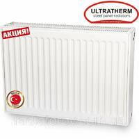 Сталеві панельні радіатори Ultratherm 22 тип 500/600 нижнє/бічне підключення, Туреччина