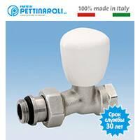 Кран радиаторный прямой 3/4'' Fratelli Pettinaroli Италия