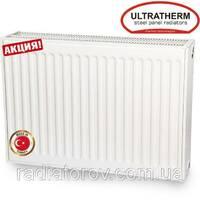 Сталеві радіатори Ultratherm 22 тип 500/1000 з нижнім/бічним підключенням, Туреччина