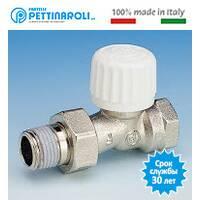 Кран термостатический 1/2'' прямой Pettinaroli Италия
