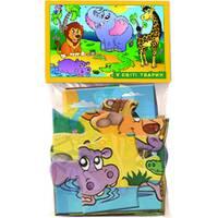Пазли 12  В світі тварин (в пакеті)