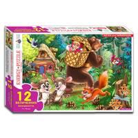 Пазли 12 Маша і Ведмідь (коробка)