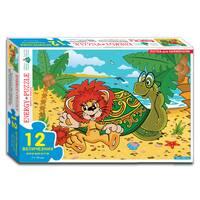 Пазли 12 Левеня і Черепаха (коробка)